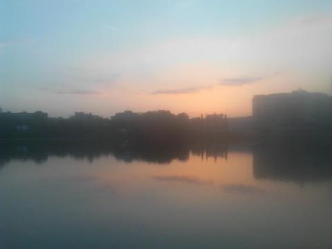 Sunset in Ruzinov, Bratislava