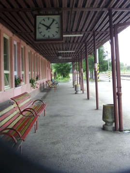 Train Station in Rožňava